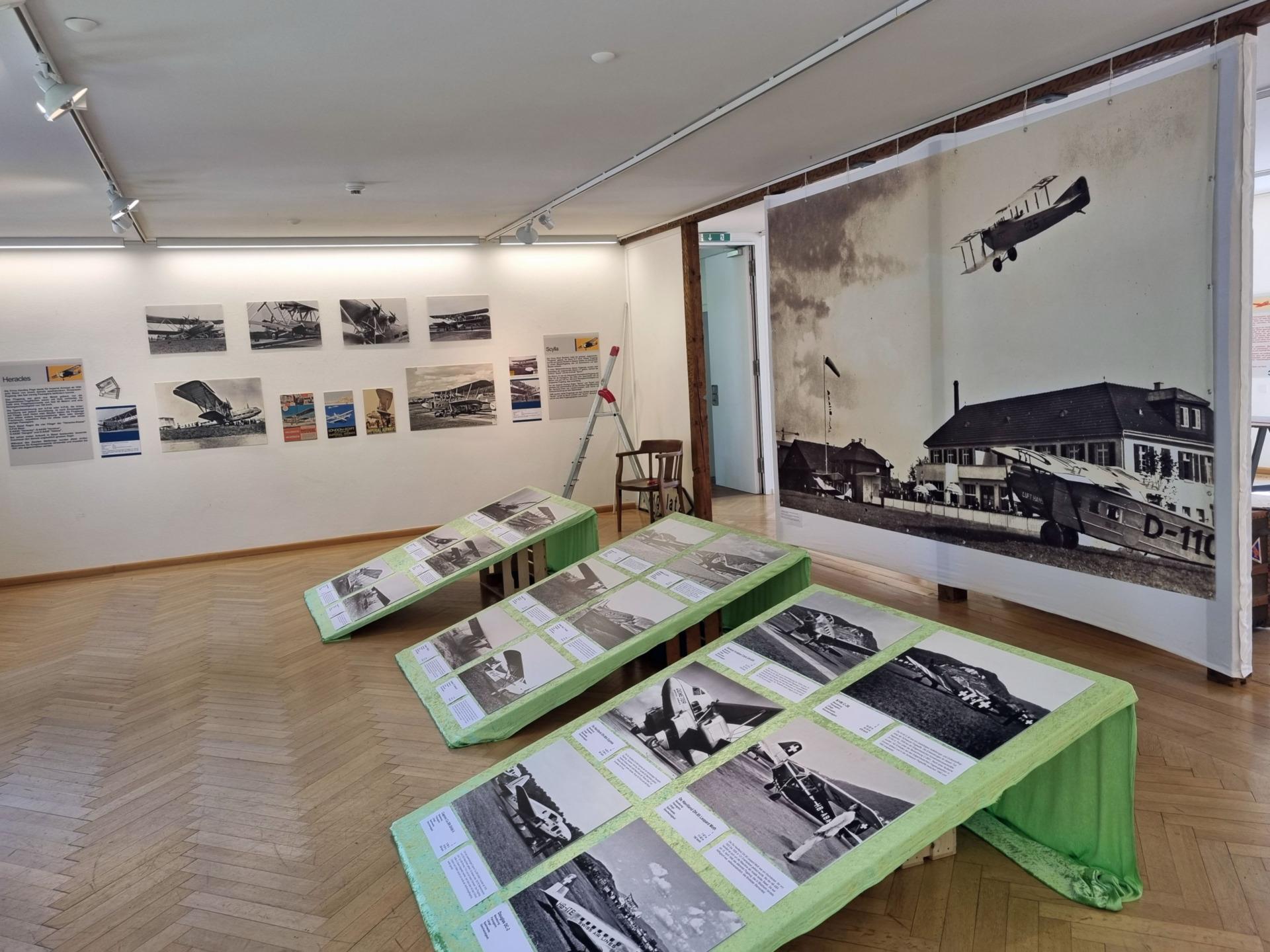 Ausstellung zum Basler Flugplatz Sternenfeld   Sky News